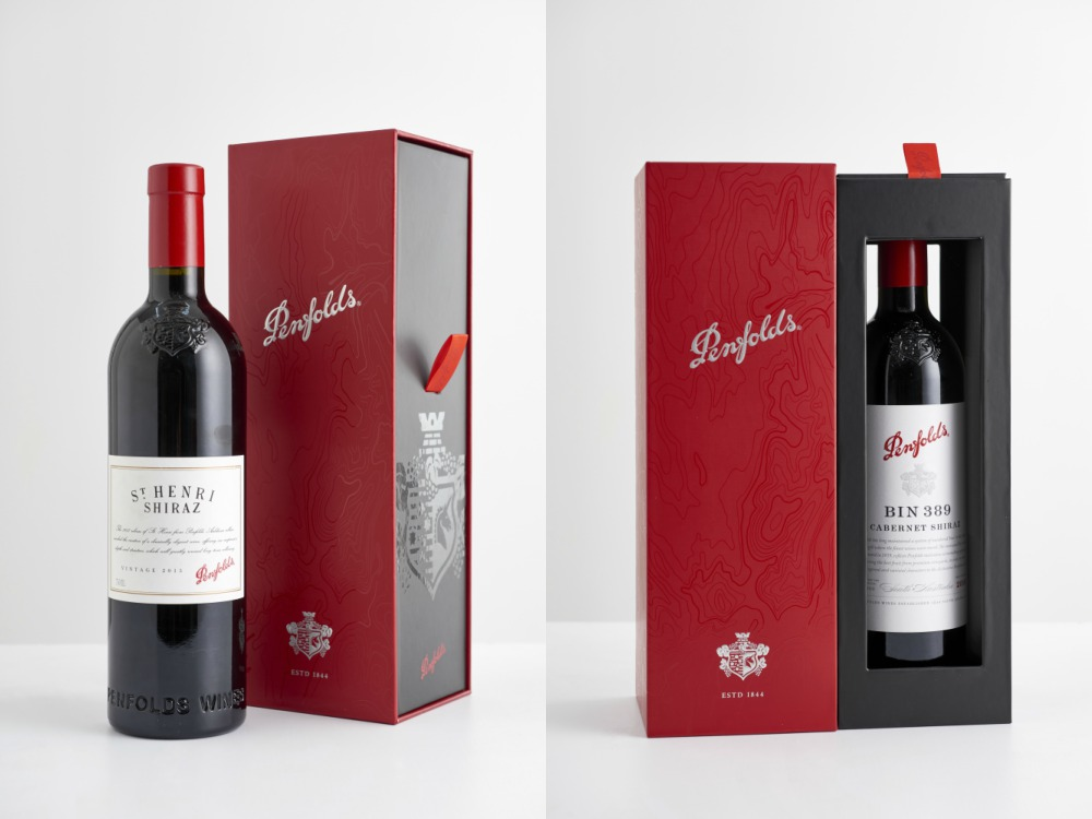 Penfolds Named World's Most Admired Wine Brand by Drinks International Bottle Set - 认识世界最受欢迎的葡萄酒:PENFOLDS