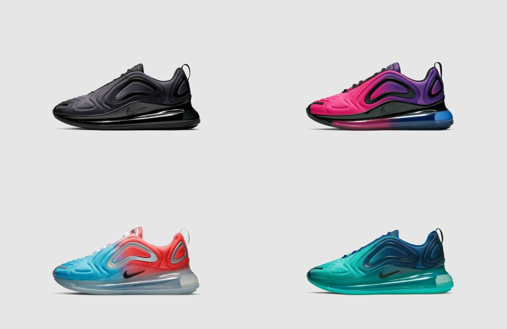 Set Nike Air Max 720 Collection - Air Max 气垫巅峰之作:NIKE AIR MAX 720