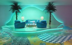 VERSACE HOME FUORISALONE 2019 living room 240x150 - Versace Home 时尚张扬的居家系列