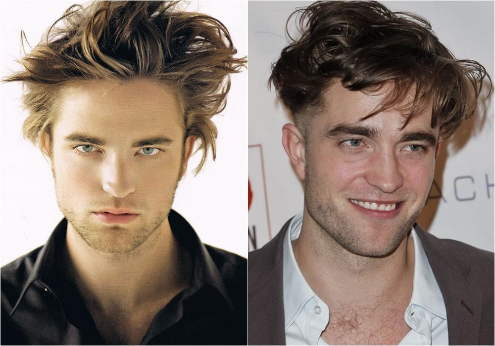 messy medium length hairstyle for men Robert Pattinson - Messy Hairstyle Know-how