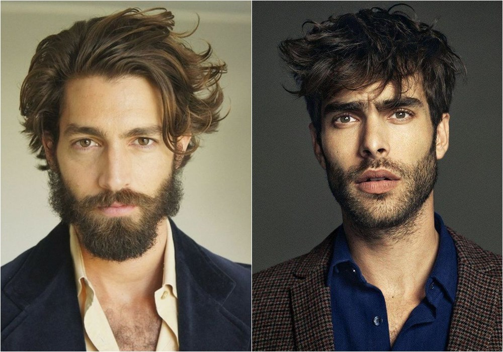 messy medium length hairstyle for men bread - Messy Hairstyle Know-how