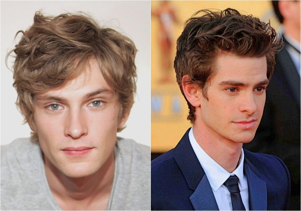 messy medium length hairstyle for men celebrity - Messy Hairstyle Know-how