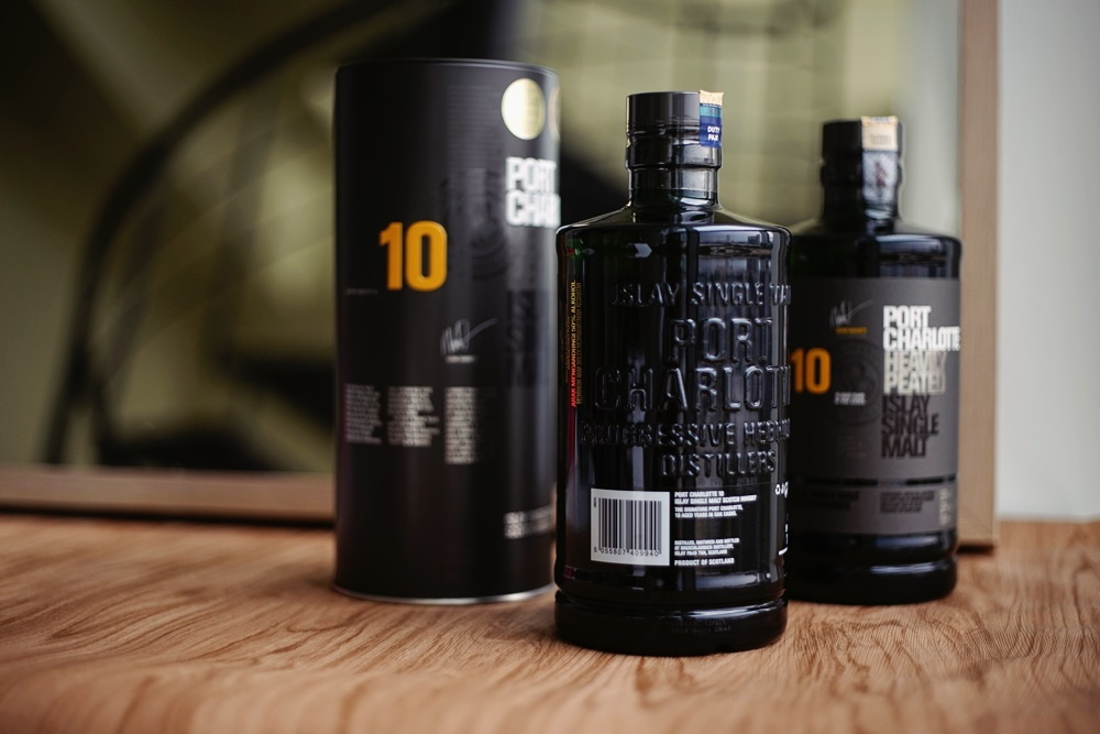 port charlotte whisky x kingssleeve giveaway - 一跃而成的网红级酒款:Port Charlotte 10年份威士忌