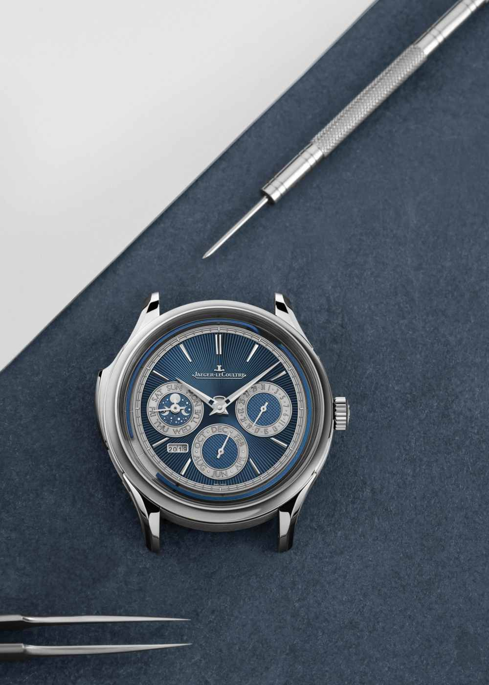Art of Mechanical Jaeger Lecoultre Master Grande Tradition Répétition Minutes Perpétuelle Maki - 全新音簧 悦耳钟声:JLC 超卓传统大师万年历三问腕表