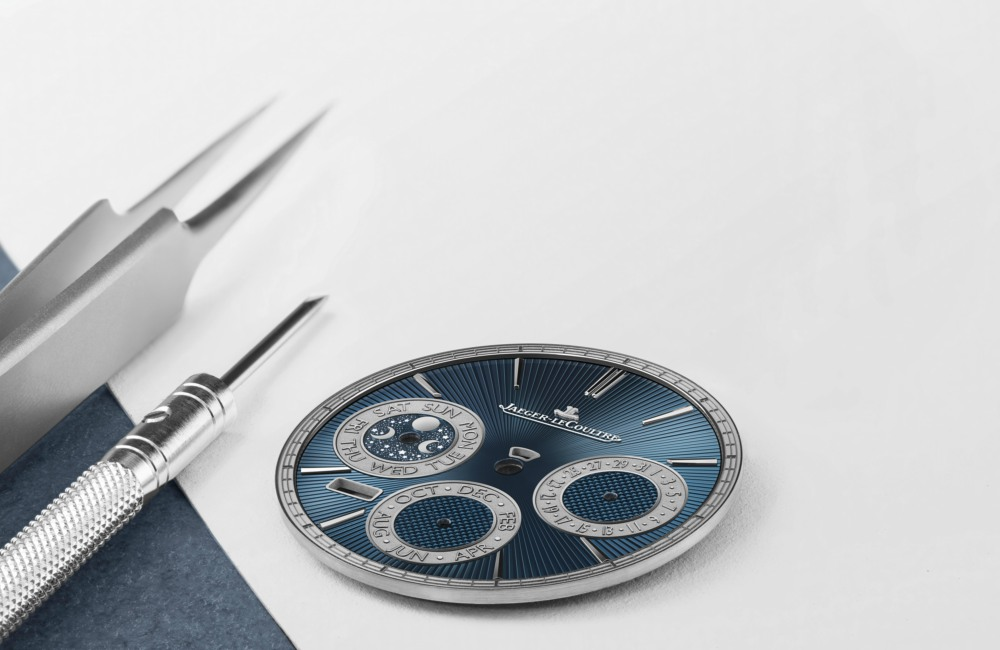 Art of Mechanical Jaeger Lecoultre Master Grande Tradition Répétition Minutes Perpétuelle dial - 全新音簧 悦耳钟声:JLC 超卓传统大师万年历三问腕表