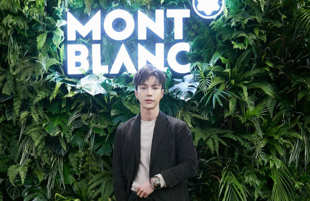 Montblanc 1858 Lawrance Wong wearing Montblanc 1858 Geosphere - 联系大自然 探索生活新视角:Montblanc 1858 Collection