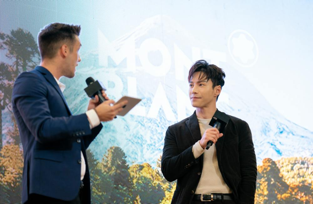 Montblanc Malaysia Friend of the Brand Lawrence Wong officiated the Montblanc 1858 product line - 联系大自然 探索生活新视角:Montblanc 1858 Collection