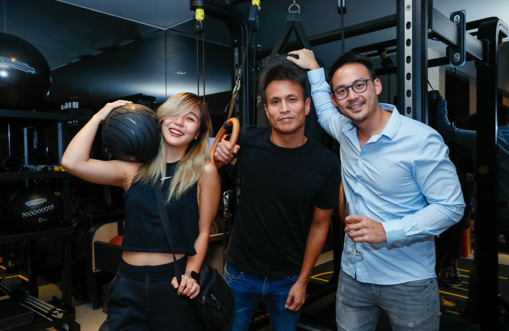 Technogym Party Launch Talitha Tan Kenny Choong and Jason Choong - 全方位保健理念空间:Technogym 欢庆旗舰陈列室开幕