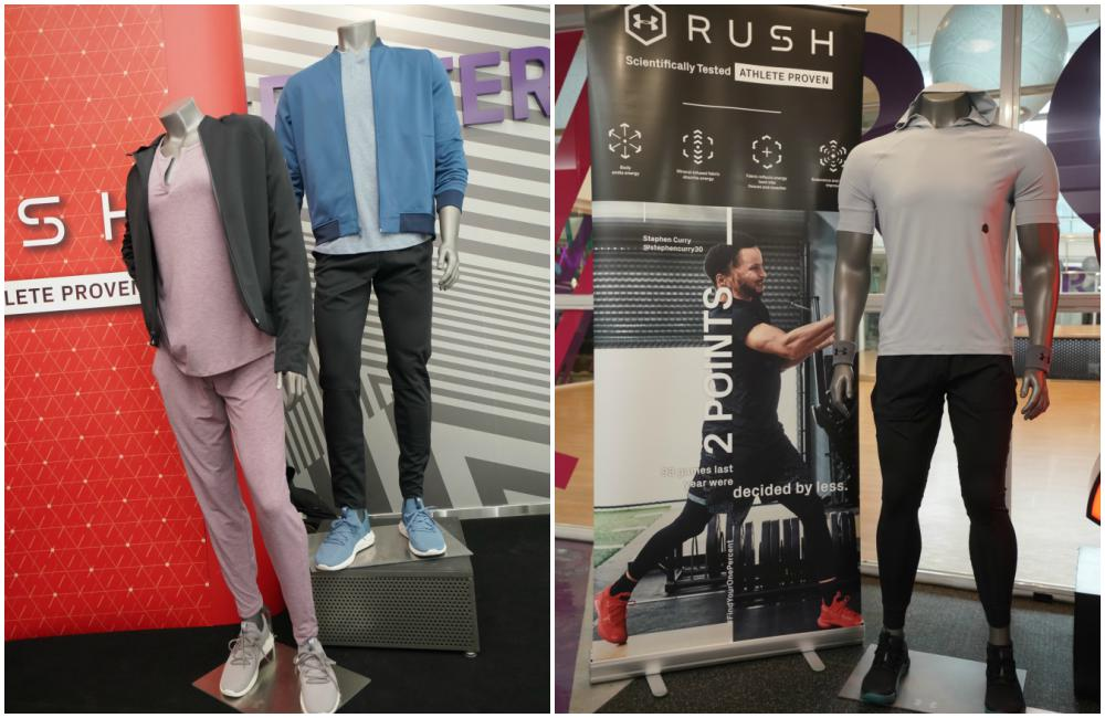 Under Armour RUSH Collection Recovery Collection display - 能量恢复 提升锻炼效率:Under Armour RUSH 锻炼系列