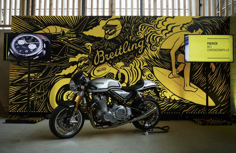 Breitling Wheel and Waves Limited Edition Event 3 - 海陆空精髓的诠释:Breitling Wheels and Waves 限量腕表
