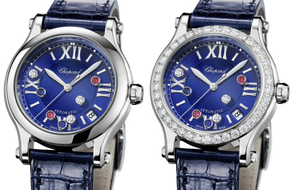 Chopard Happy Sport London Diamond - CHOPARD Happy Sport London Edition 伦敦限量版腕表