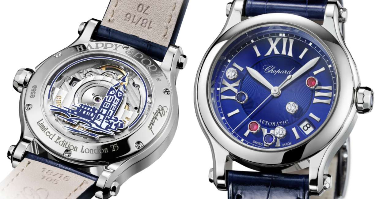 Chopard Happy Sport London Edition cover - CHOPARD Happy Sport London Edition 伦敦限量版腕表