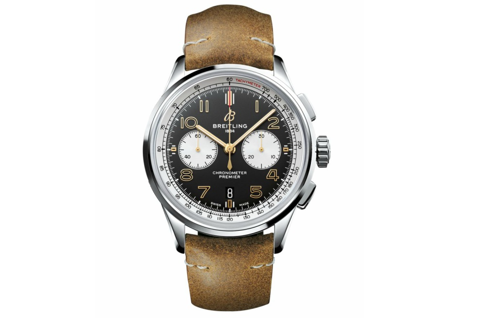 Fathers Day Gift Guide Breitling Premier B01 Chronograph 42 Norton Edition - KINGSSLEEVE Father's Day Gift Guide:送礼指南