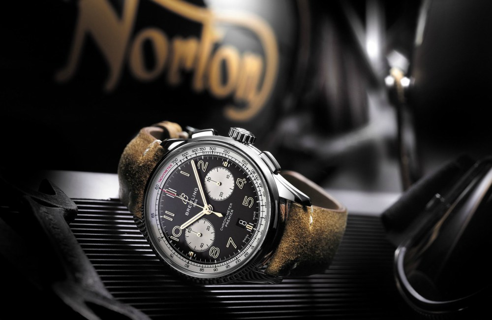 Fathers Day Gift Guide Breitling Premier B01 Chronograph 42 Norton - KINGSSLEEVE Father's Day Gift Guide:送礼指南