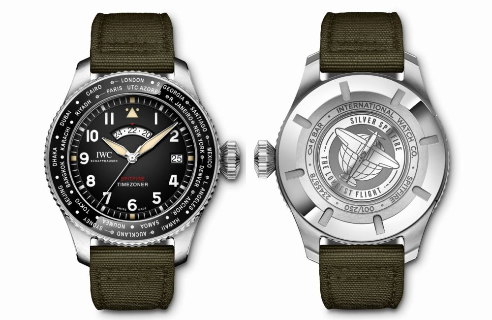Fathers Day Gift Guide IWC Pilots Watch Timerzoner Spitfire The Longest Flight - KINGSSLEEVE Father's Day Gift Guide:送礼指南