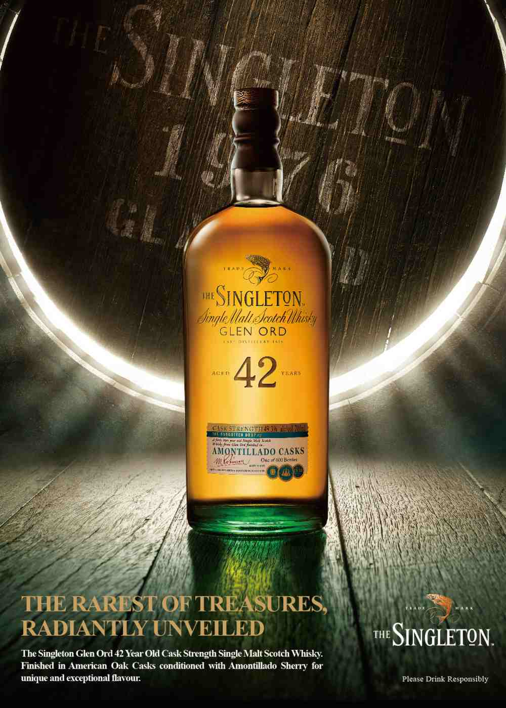 Limited Edition The Singleton of Glen Ord 42 Year Old in High Poster - 苏格兰的时光窖藏:Singleton of Glen Ord 42年限量套装