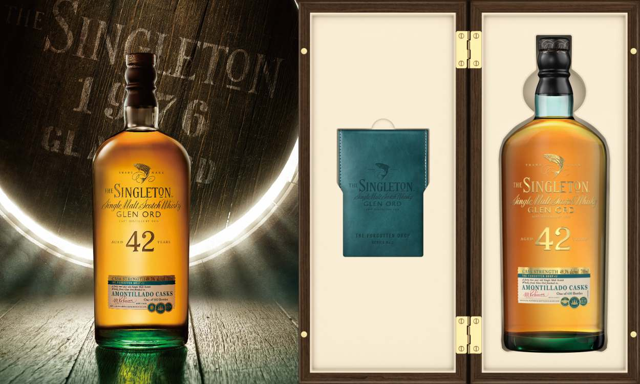 Limited Edition The Singleton of Glen Ord 42 Year Old in High cover - 苏格兰的时光窖藏:Singleton of Glen Ord 42年限量套装