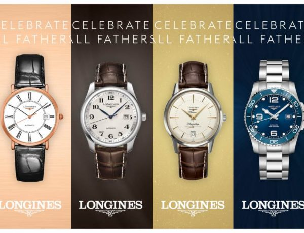 Longines Fathers Day Gift Guide cover 600x460 - LONGINES Father's Day Gift Guide:父情节送礼指南