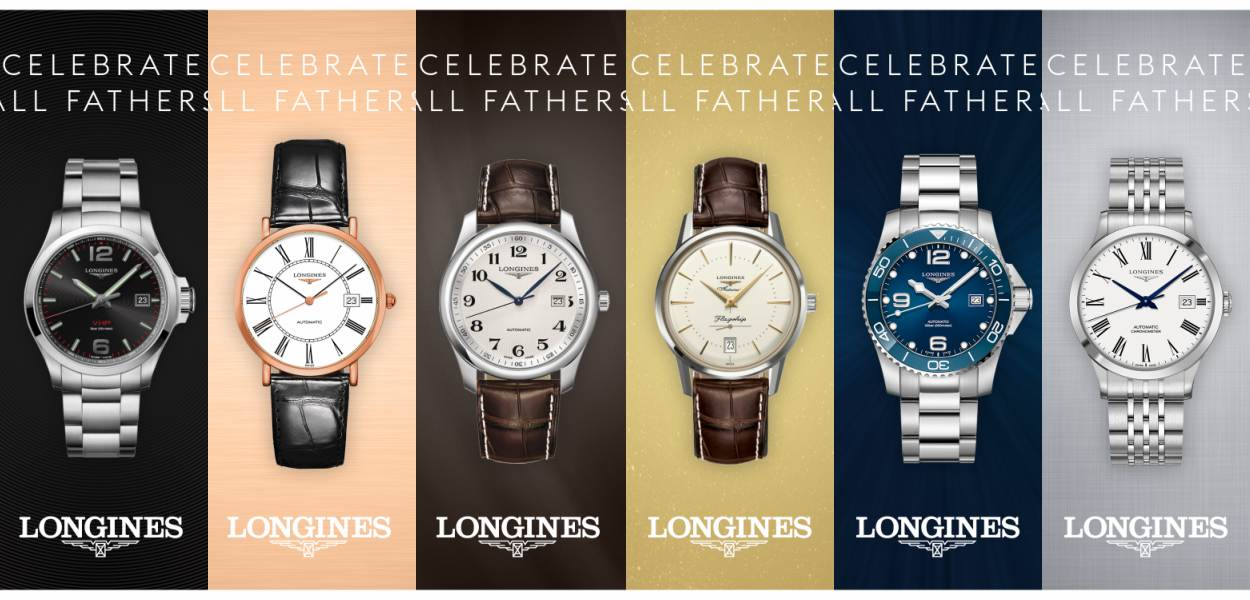 Longines Fathers Day Gift Guide cover - LONGINES Father's Day Gift Guide:父情节送礼指南