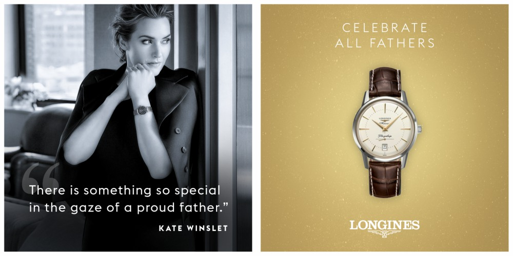 Longines Fathers Day Kate Winston - LONGINES Father's Day Gift Guide:父情节送礼指南