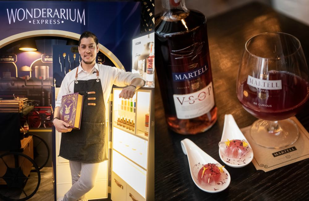 Martell x Babe presents The Wonderarium VSOP Martell - MARTELL x BABE 联手展开 The Wonderarium 感官之旅