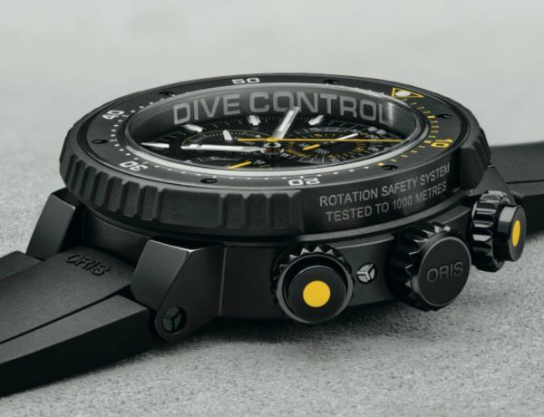 Oris Dive Control Limited Edition 51mm cover 600x460 - 海底最强限量潜水表:ORIS Dive Control Limited Edition