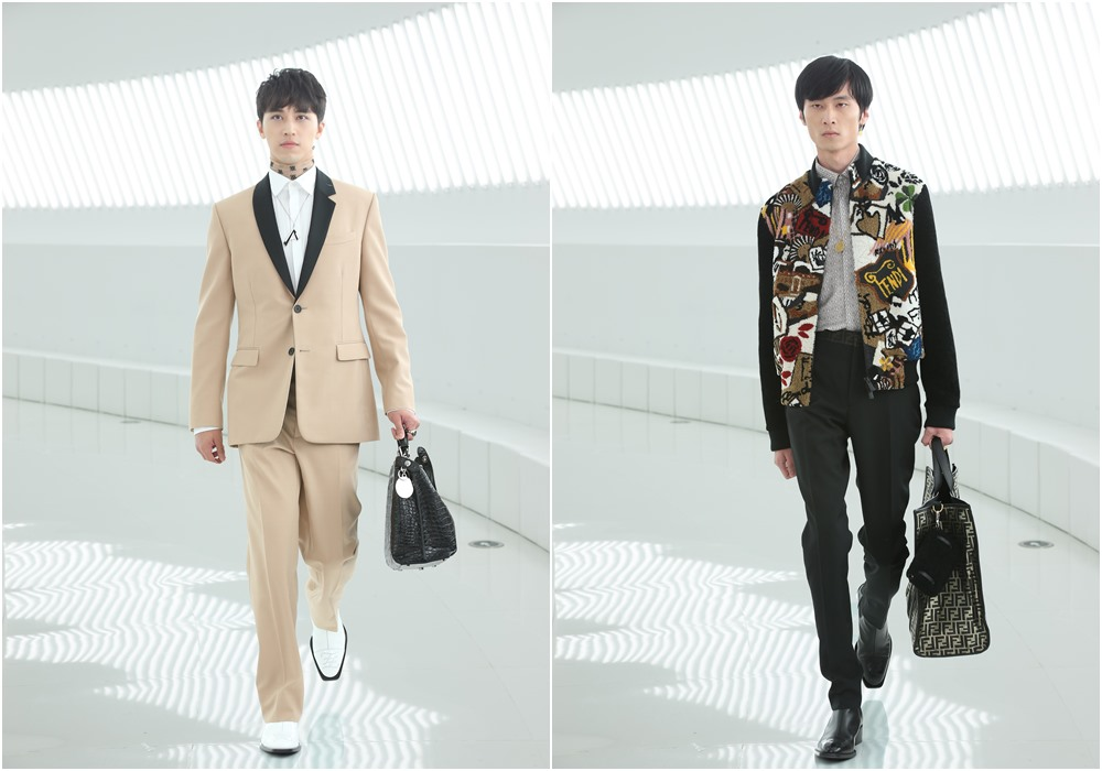 fendi shanghai fashion show mens suits - FENDI 男女时尚秀移师上海