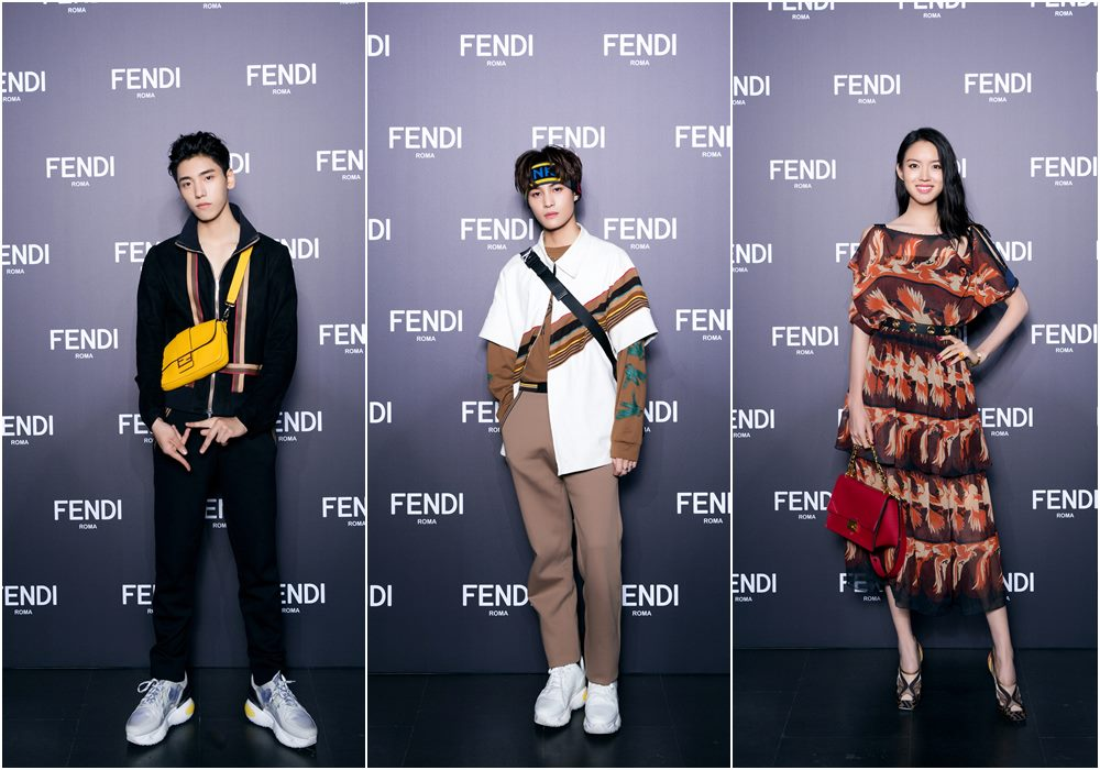 fendi shanghai fashion show wang ziyi - FENDI 男女时尚秀移师上海