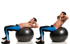 stability ball workout 240x150 - Stability Ball Workout 改善弱点、加强平衡