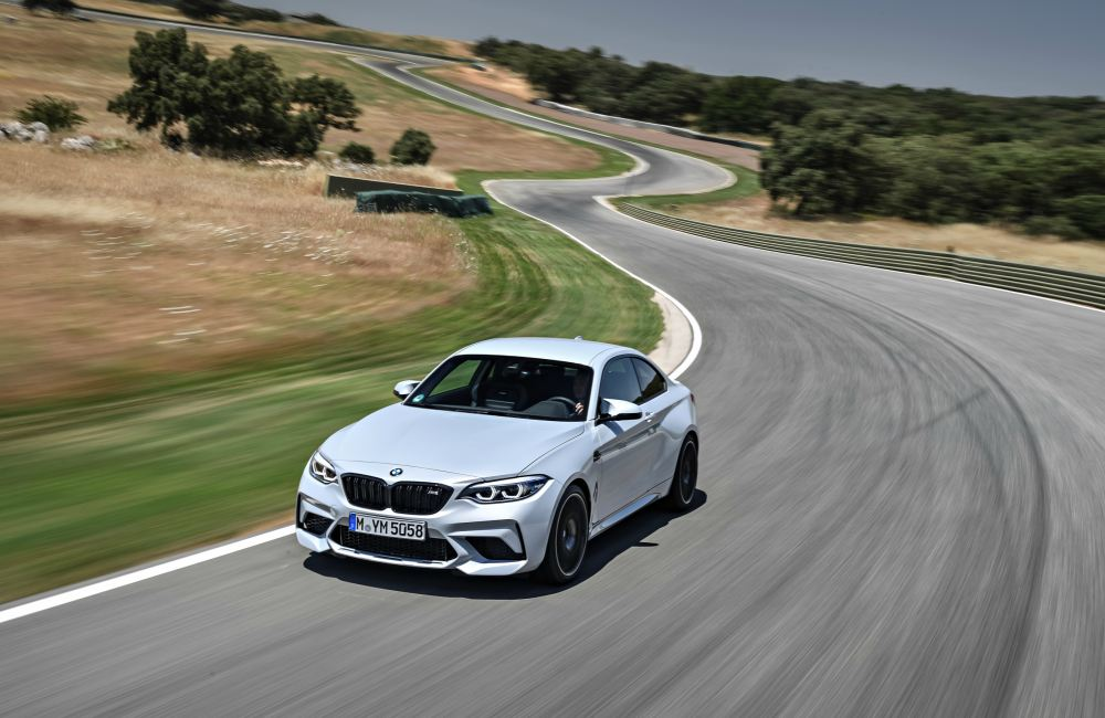 BMW M2 BMW M Track On the Road - 赛道上的俊豹:BMW M2 COMPETITION