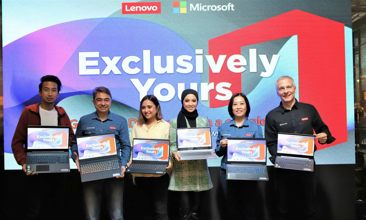 Exclusively Yours Lenovo IdeaPad Launch x First Malaysian Microsoft Office Partnership cover - 首度推出预装 OFFICE 2019:LENOVO 发布5款新品