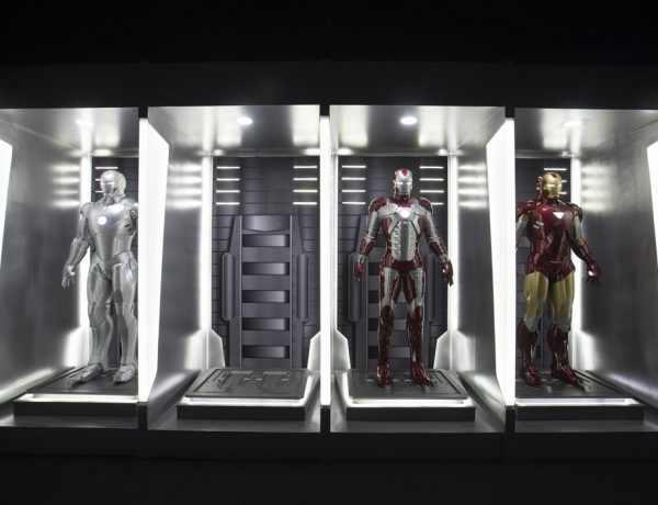 Hall of Armor which showcases the evolution of Iron Man suits 600x460 - 近距离接触超级英雄 Marvel Studios: Ten Year of Heroesexhibition