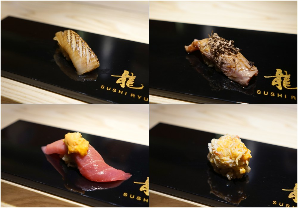 Sushi Ryu omakase food review nigiri sushi selected - Sushi Ryu 精致无菜单料理