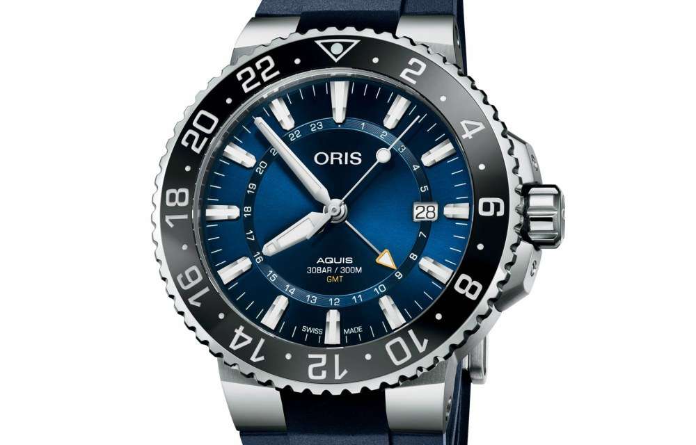 Travel Issue GMT Watches Oris Aquis Date GMT Dial - Traveler's Timepiece:4款GMT双时区精表