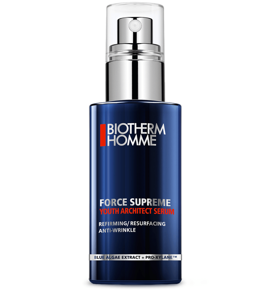 Biotherm Homme Force Supreme Youth Architect Serum  - 5个基本保养步骤+产品推荐