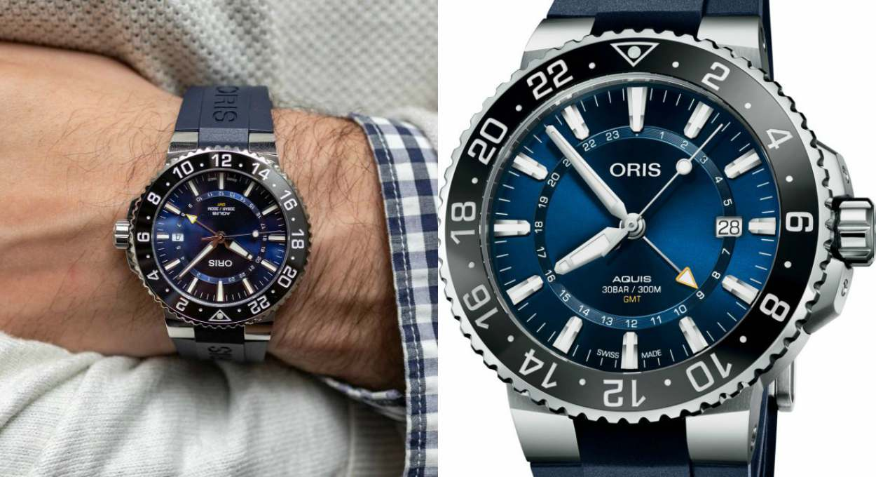Editors Review Oris Aquis Date GMT Cover - [编辑试戴]:ORIS AQUIS DATE GMT 双时区潜水表
