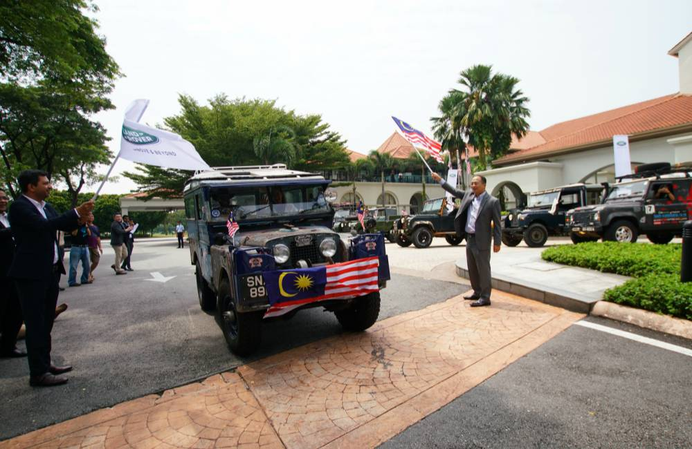 Land Rover The Last Overland From Singapore to London Depart Day 2 from KL - 再创越野万里传奇:THE LAST OVERLAND