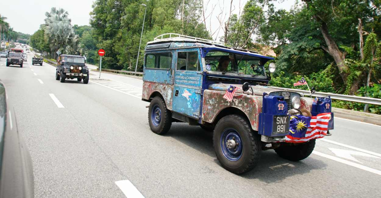 Land Rover The Last Overland From Singapore to London cover - 再创越野万里传奇:THE LAST OVERLAND