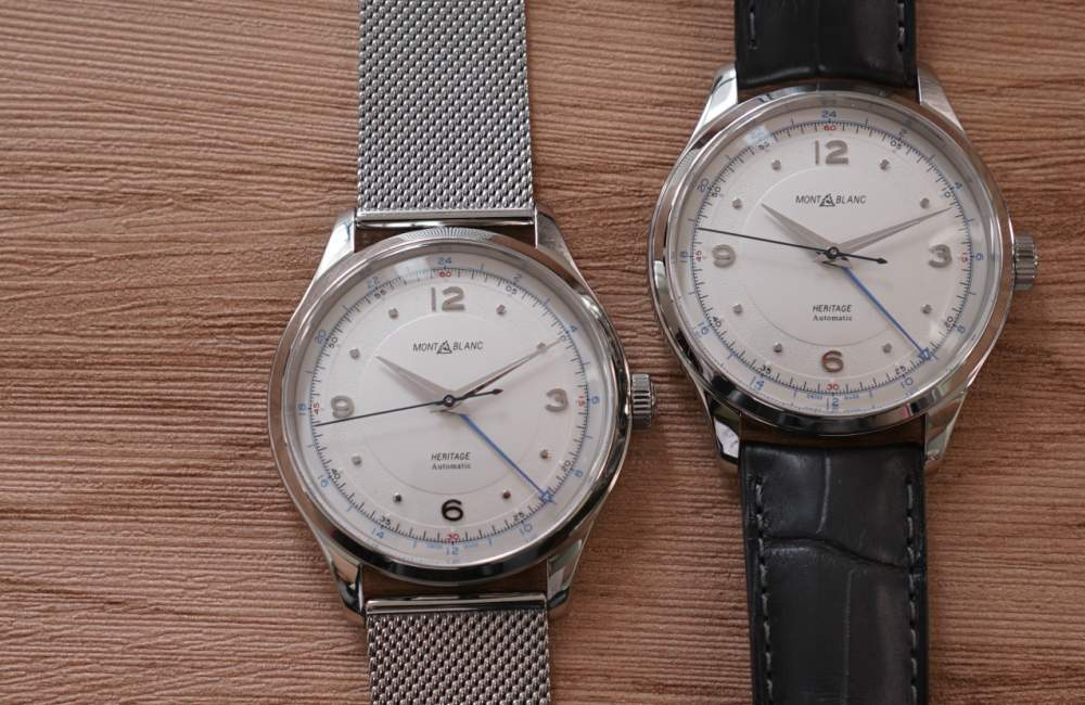 Montblanc Heritage GMT Automatic Editors Review - [编辑试戴]:MONTBLANC HERITAGE GMT 双时区腕表