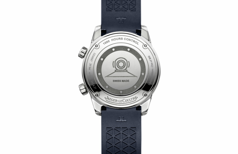 AEGER LECOULTRE POLARIS DATE IN LIMITED EDITION Back Case - 稀珍巨献:JLC POLARIS DATE 日历限量版腕表