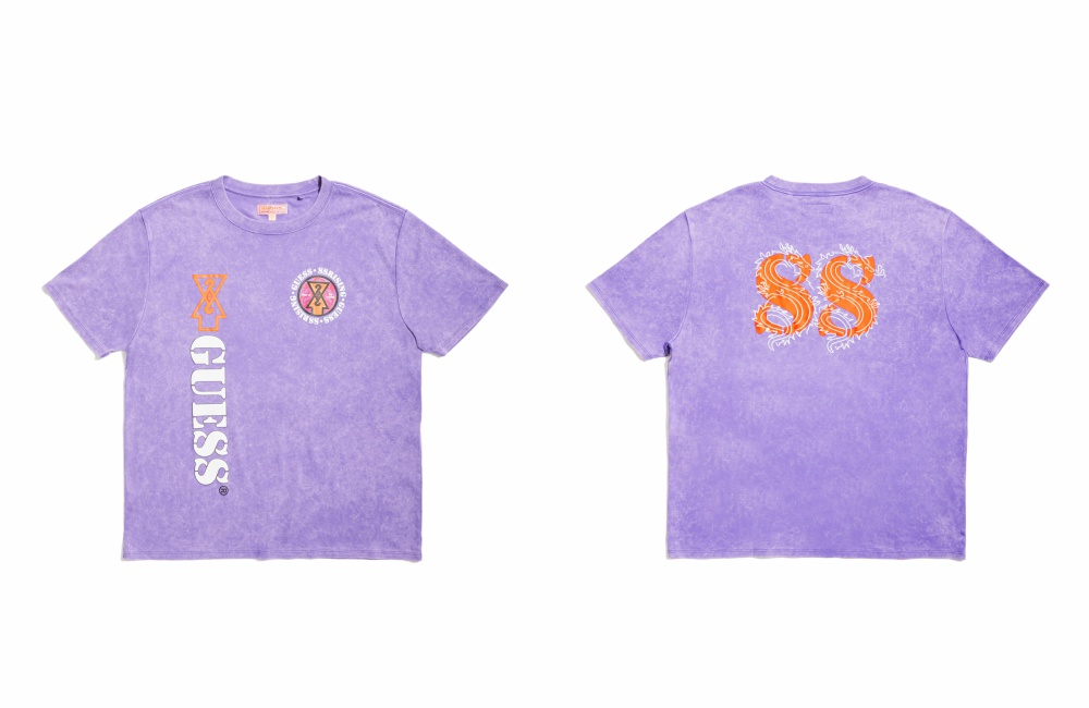 GUESS x 88 RISING Collaborative Capsule TEE - 炫目多彩 缤纷迷幻:GUESS x 88rising GUE88 联名系列