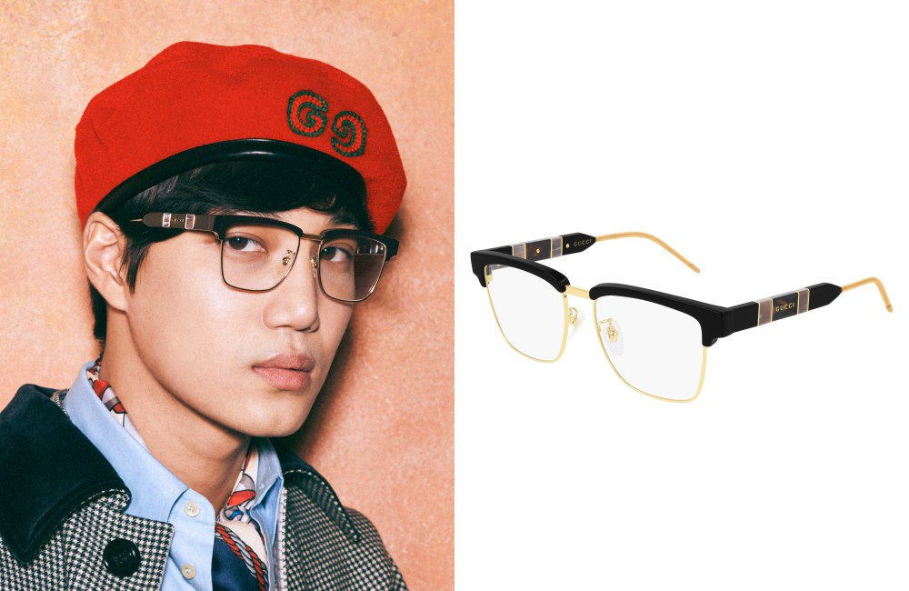 NI NI AND KAI STAR IN THE GUCCI EYEWEAR FALL WINTER 2019 Kai - 倪妮与金钟仁诠释2019秋冬 GUCCI 眼镜广告宣传