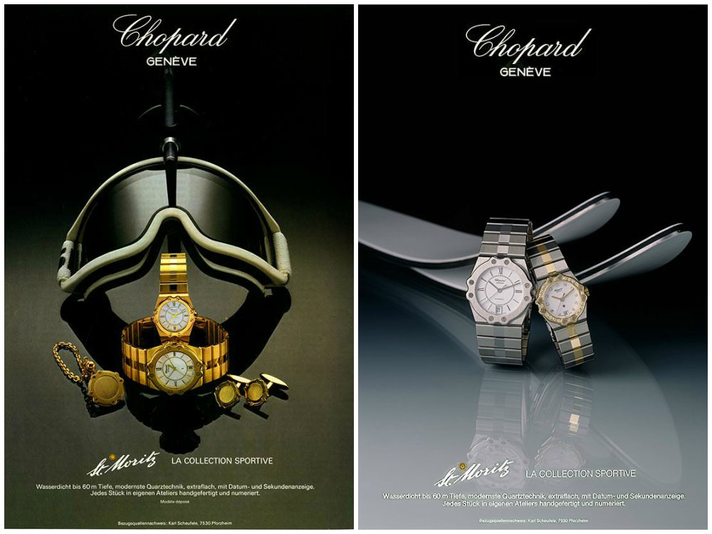 Watchwatches Chopard Alpine Eagle St Moritz - 承家族特色 延经典设计:CHOPARD ALPINE EAGLE