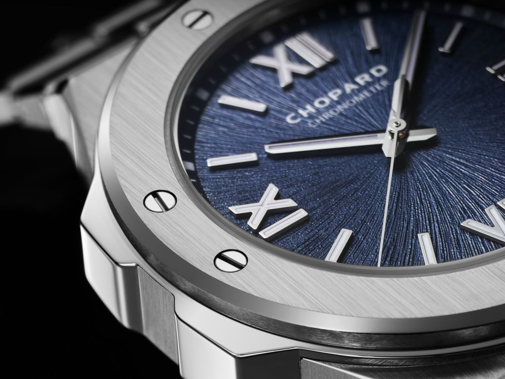 Watchwatches Chopard Alpine Eagle details - 承家族特色 延经典设计:CHOPARD ALPINE EAGLE