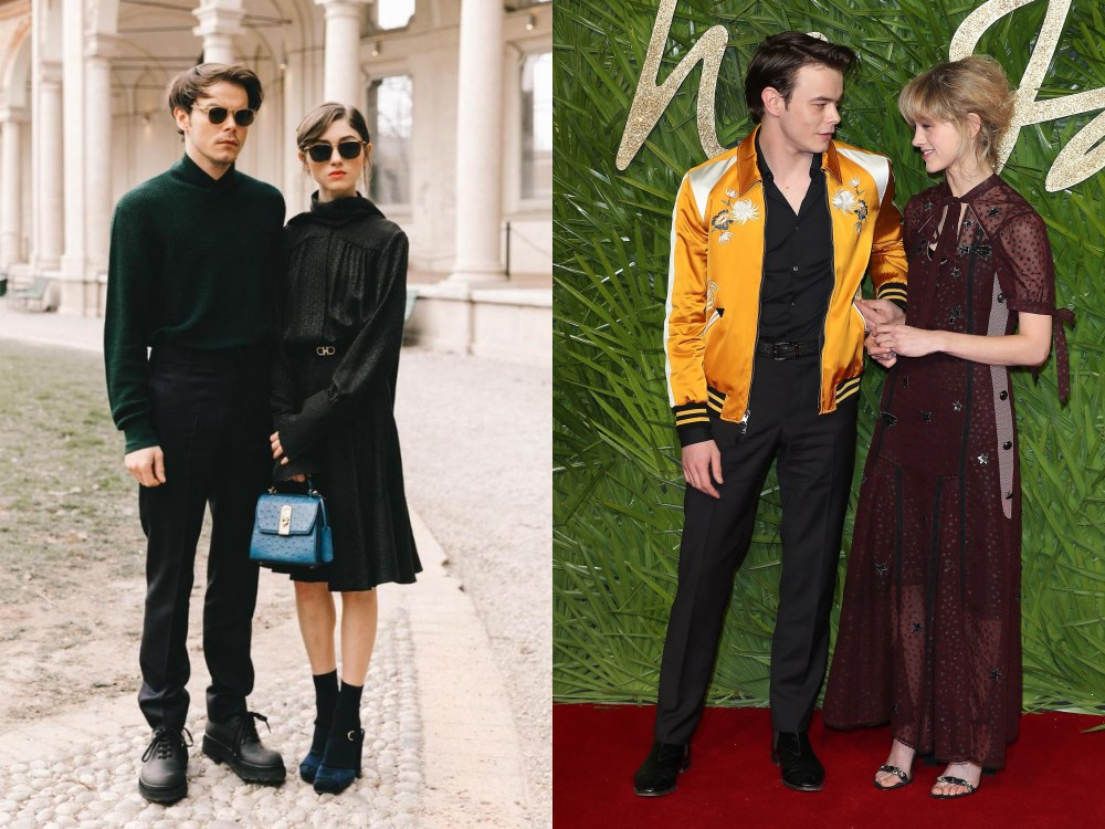 best couple style Charlie Heaton and Natalia Dyer vintage - K's Style: The Best Couple Wear 时尚情侣应该这么穿!