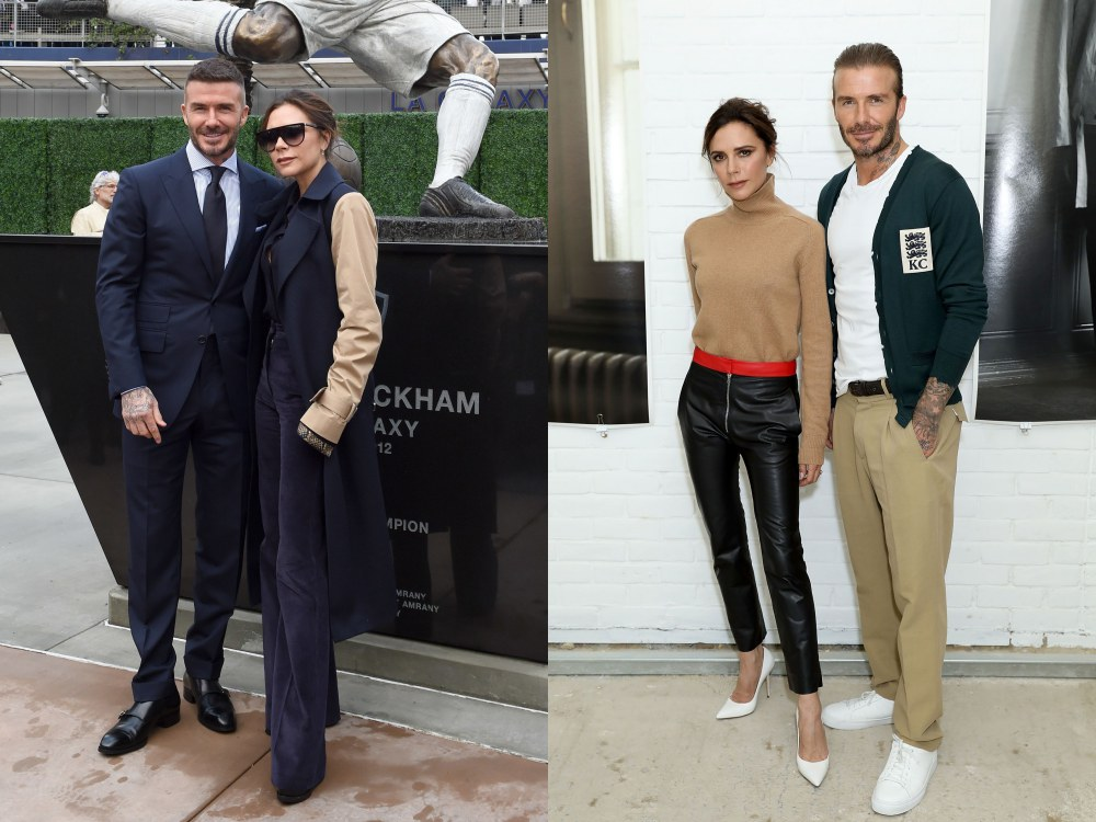 best couple style David Beckham and Victoria Beckham knit wear - K's Style: The Best Couple Wear 时尚情侣应该这么穿!
