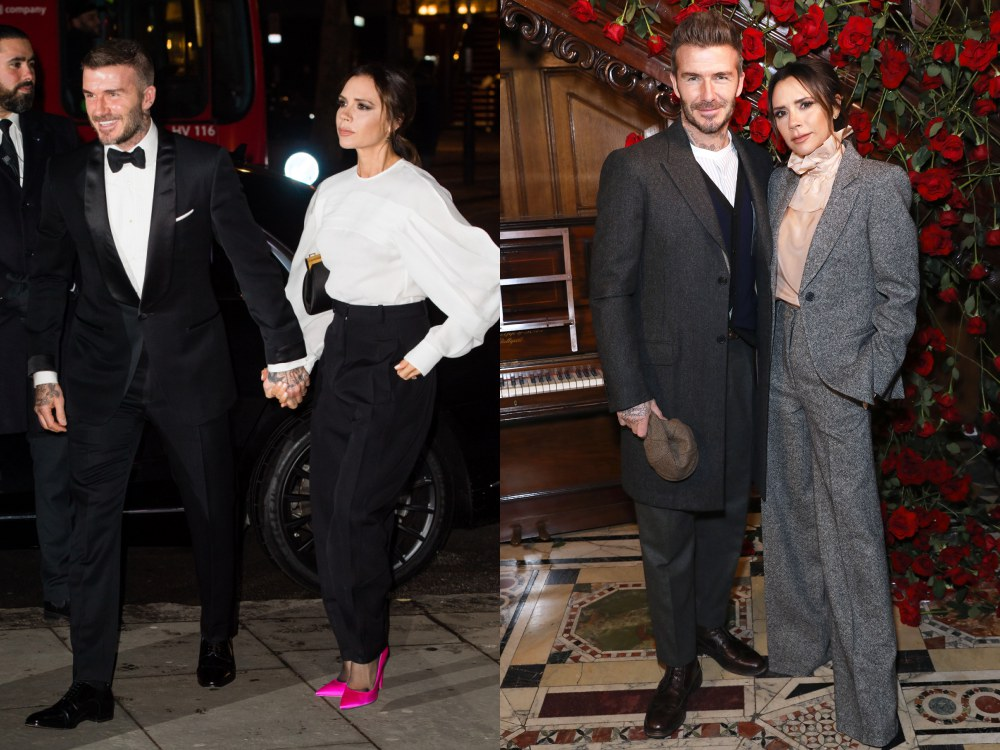 best couple style David Beckham and Victoria Beckham - K's Style: The Best Couple Wear 时尚情侣应该这么穿!