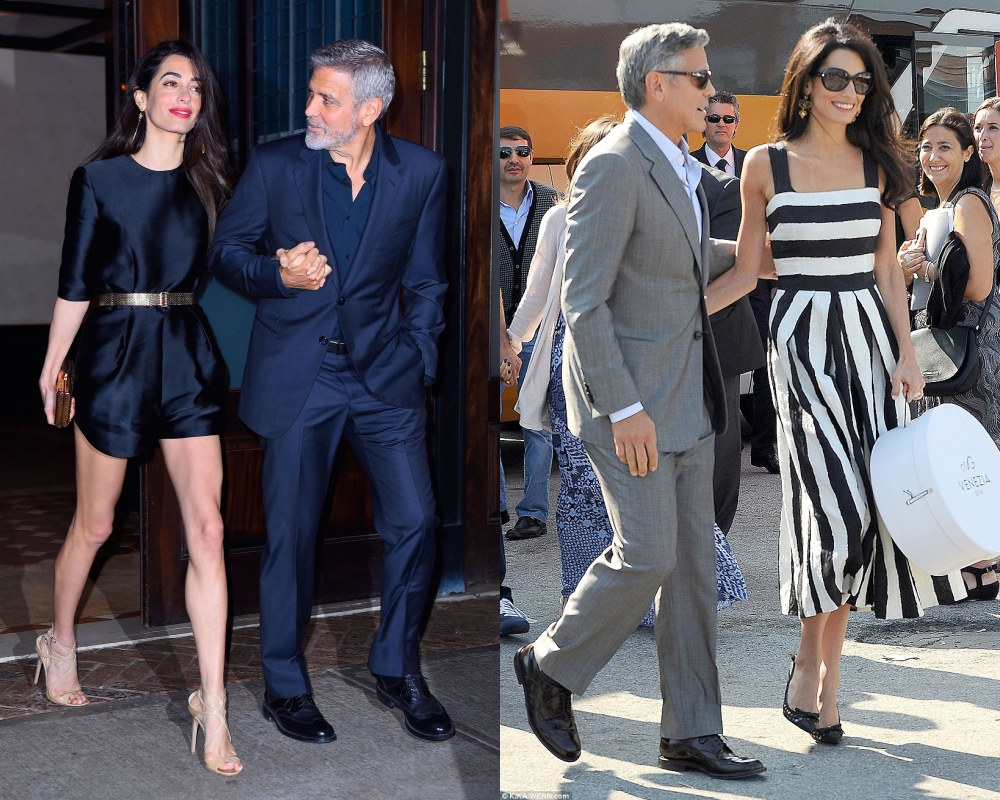 best couple style George Clooney and Amal Alamuddin - K's Style: The Best Couple Wear 时尚情侣应该这么穿!