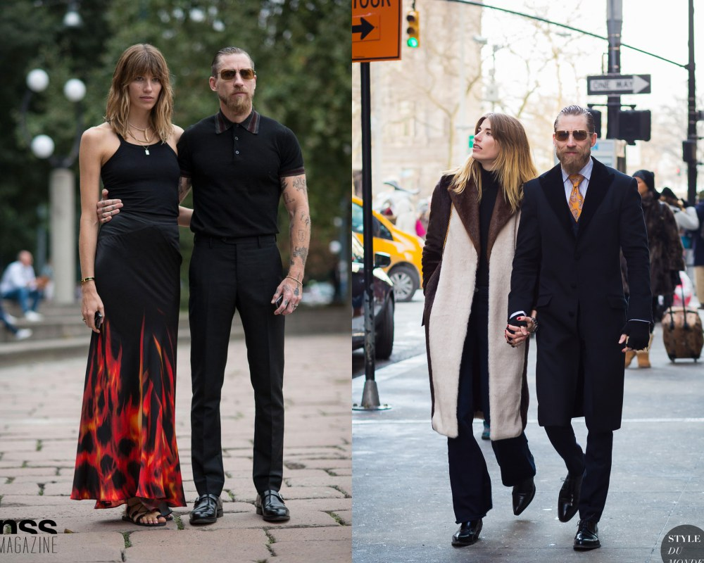 best couple style Veronika Heilbrunner and Justin Oshea rock - K's Style: The Best Couple Wear 时尚情侣应该这么穿!