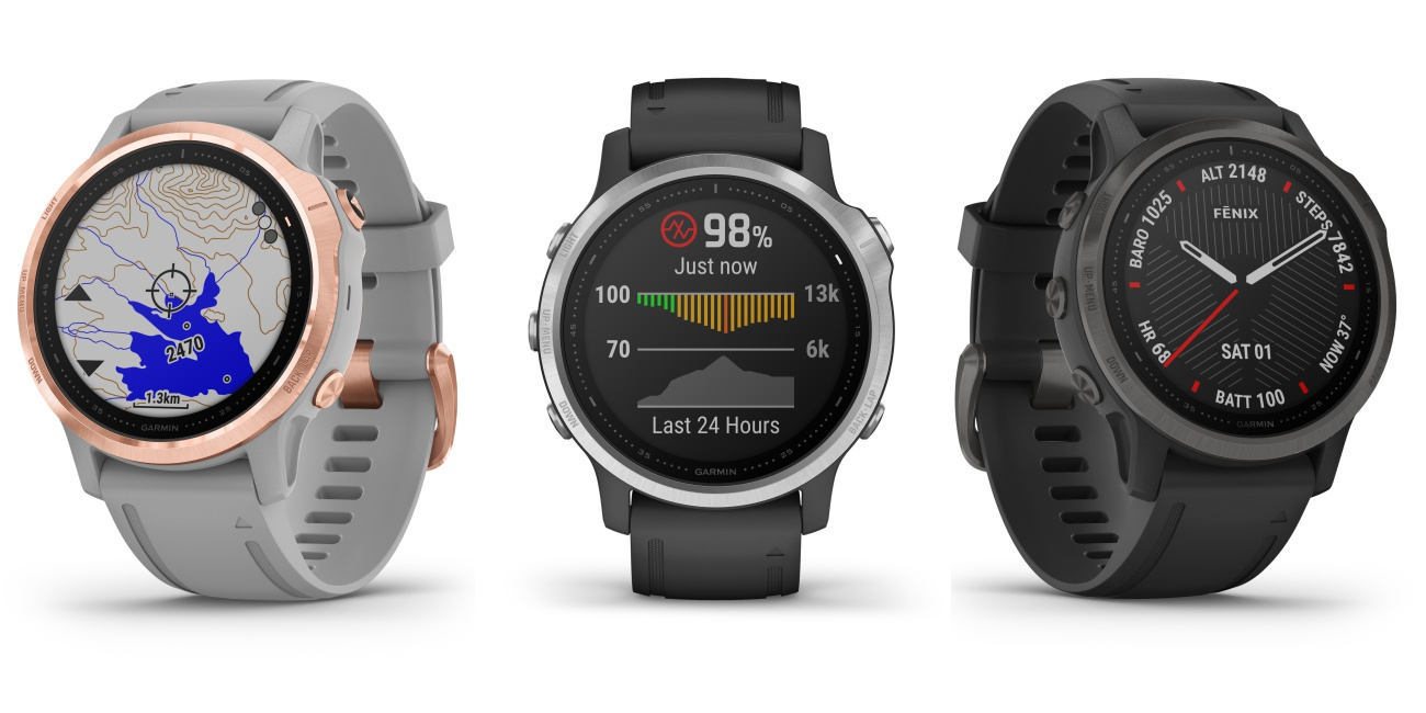 garmin fenix 6s series multisport watch - 为探险家而设!全方位 Garmin Fenix 6 智能表